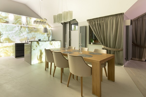 Gdansk modern apartment dining room