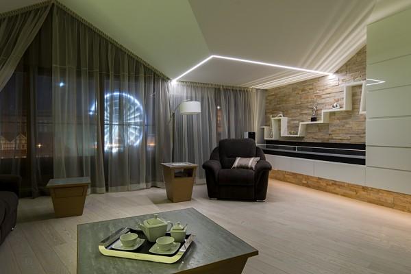Gdansk modern apartment living room