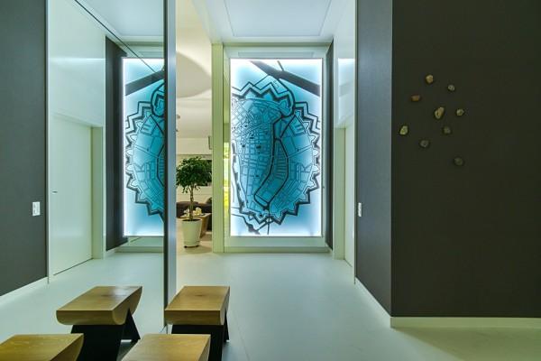 Gdansk modern apartment wall art