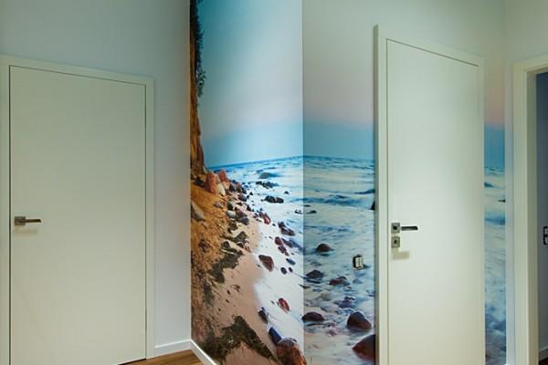Gdansk modern apartment wallpaper