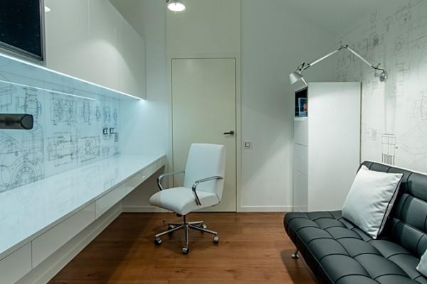 Gdansk modern apartment office