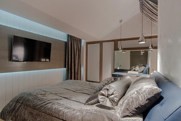 Gdansk modern apartment bedroom