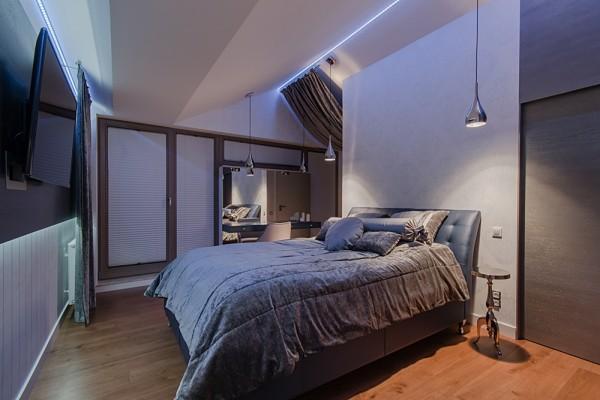 Gdansk modern apartment bed