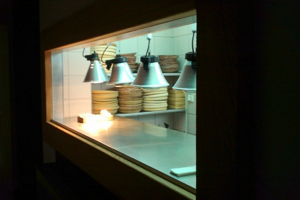 restaurant kitchen hole